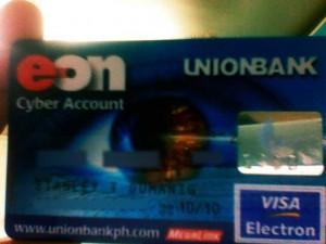Unionbank EON Card
